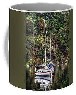At Anchor Coffee Mug by Randy Hall