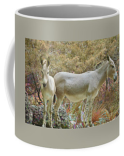 Coffee Mug featuring the painting At Home On The Range by Judy Kay