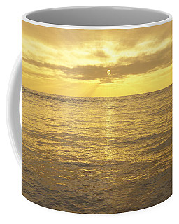 Coffee Mug featuring the digital art Ocean View by Mark Greenberg