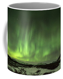 Aurora Borealis Or Northern Lights. Coffee Mug