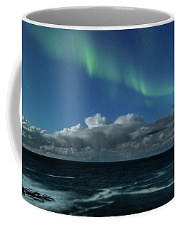 Auroras And Clouds Coffee Mug