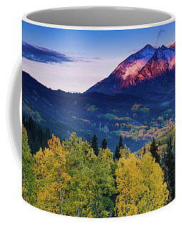 Autumn Alpenglow Coffee Mug