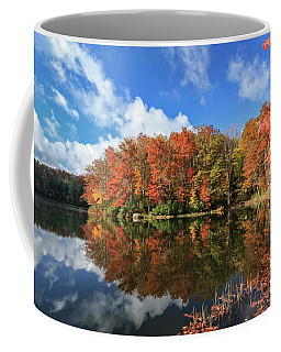 Autumn At Boley Lake Coffee Mug
