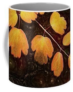 Coffee Mug featuring the photograph Autumn Breeze by Paul Wear