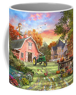 Autumn Farm Coffee Mug