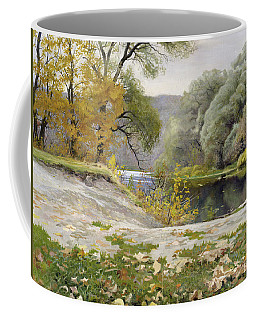 Autumn Landscape In The Vicinity Of Eshar Coffee Mug