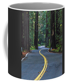 Avenue Of The Giants Coffee Mug