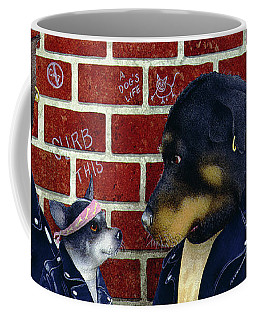 Bad Doggies... Coffee Mug