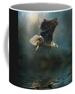 Bald Eagle Swooping Coffee Mug