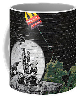 Banksy - The Tribute - New World Order Coffee Mug