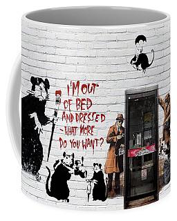 Banksy - The Tribute - Rats Coffee Mug