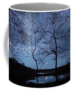 Barn Island Moonrise Coffee Mug
