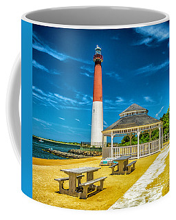 Coffee Mug featuring the photograph Barnegat Lighthouse Park by Nick Zelinsky