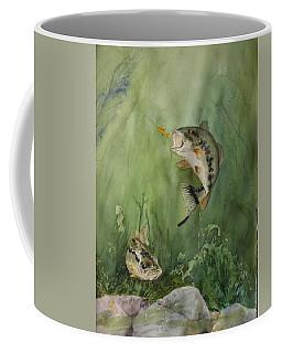 Bass On The Bottom Coffee Mug