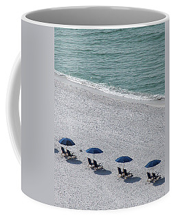 Coffee Mug featuring the photograph Beach Therapy 1 by Marie Hicks