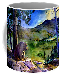 Bearly Light At Castle Peak Coffee Mug