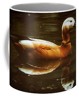 Coffee Mug featuring the photograph Beautiful Rust Goose by The 3 Cats