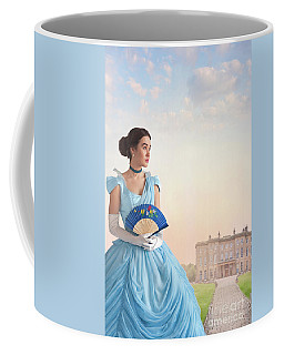 Beautiful Young Victorian Woman Coffee Mug by Lee Avison