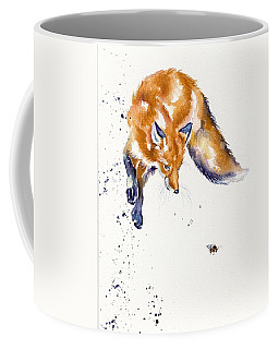 Bee Jumping Coffee Mug