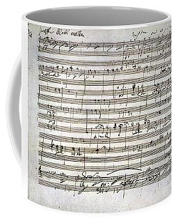 Beethoven Manuscript Coffee Mug