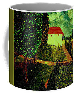 Coffee Mug featuring the painting Before The Rain by Bill OConnor