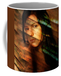 Behind The Curtain Coffee Mug