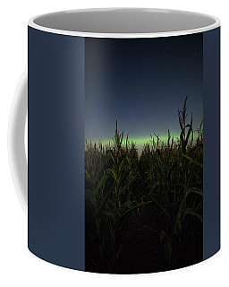 Coffee Mug featuring the photograph Behind The Rows by Aaron J Groen