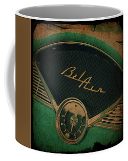 Coffee Mug featuring the photograph Belair Dashboard by Joel Witmeyer