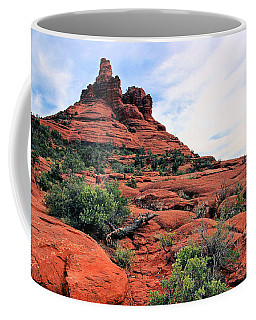 Coffee Mug featuring the photograph Bell Rock by Kristin Elmquist