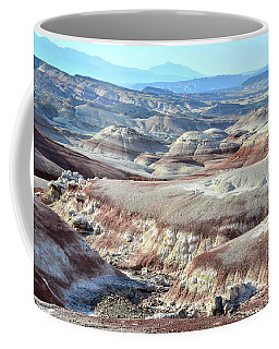 Bentonite Clay Dunes In Cathedral Valley Coffee Mug