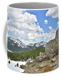 Big Horn Mountains In Wyoming Coffee Mug