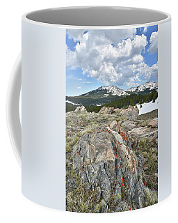 Big Horn Pass In Wyoming Coffee Mug