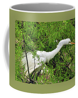Bird In A Bush Coffee Mug