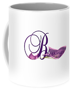 Blessings Coffee Mug by Ann Lauwers