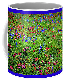 Coffee Mug featuring the photograph Blooming Wildflowers 537 by D Davila