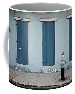 Blue And Silver At 1243 Coffee Mug