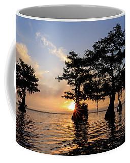 Blue Cypress Lake Morning Coffee Mug