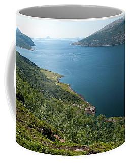 Blue Fjord Coffee Mug by Tamara Sushko