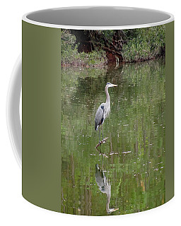 Blue Heron II   Coffee Mug