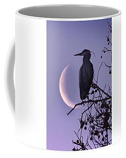 Blue Heron Moon Coffee Mug