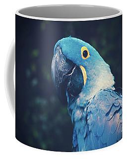 Blue Hyacinth Macaw Coffee Mug by Sharon Mau