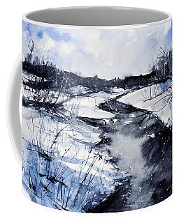 Blue Coffee Mug by Judith Levins