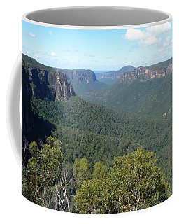 Blue Mountains Coffee Mug by Carla Parris