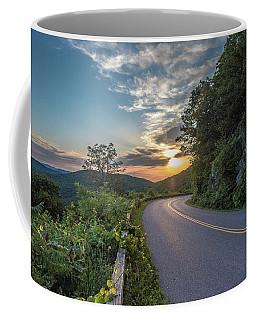Blue Ridge Parkway Morning Sun Coffee Mug