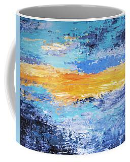 Blue Sunset Coffee Mug
