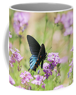 Blue Swallowtail Butterfly  Coffee Mug
