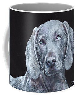 Blue Weimaraner Coffee Mug