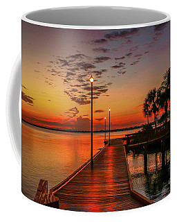 Boardwalk Sunrise Coffee Mug