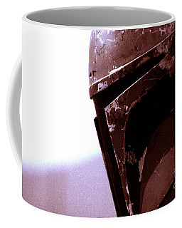 Coffee Mug featuring the photograph Boba Fett Helmet 34 by Micah May