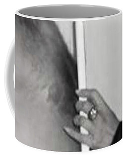 Body Prints Series Coming Soon Coffee Mug by Sir Josef - Social Critic -  Maha Art